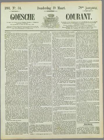 Goessche Courant 1891-03-19