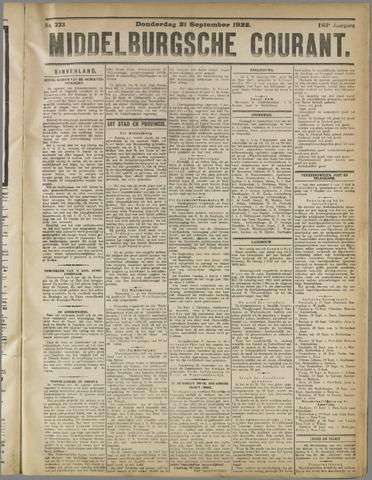 Middelburgsche Courant 1922-09-21