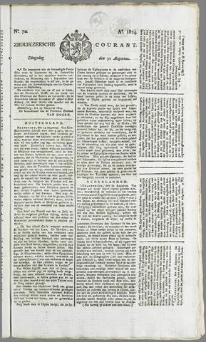 Zierikzeesche Courant 1824-08-31