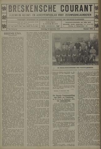 Breskensche Courant 1925-09-12