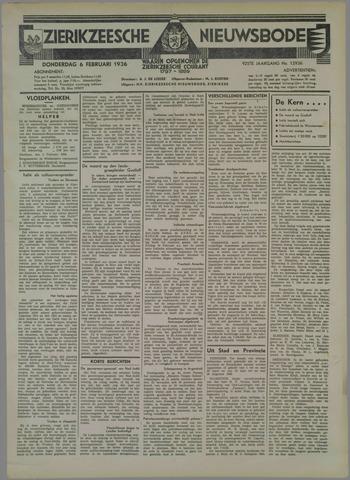 Zierikzeesche Nieuwsbode 1936-02-06