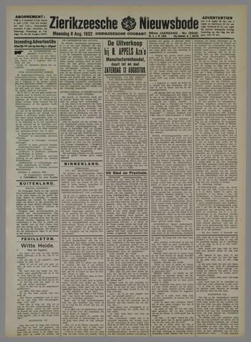 Zierikzeesche Nieuwsbode 1932-08-08