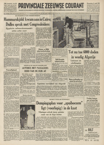 Provinciale Zeeuwse Courant 1956-04-11