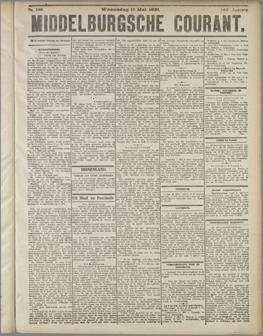 Middelburgsche Courant 1921-05-11