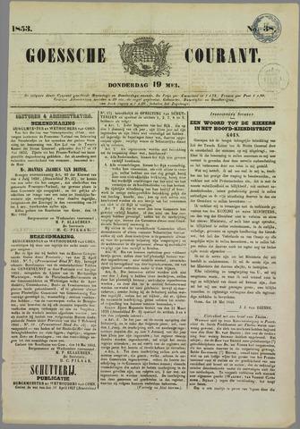 Goessche Courant 1853-05-19