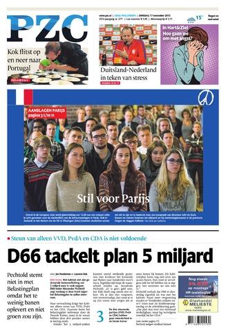 Provinciale Zeeuwse Courant 2015-11-17