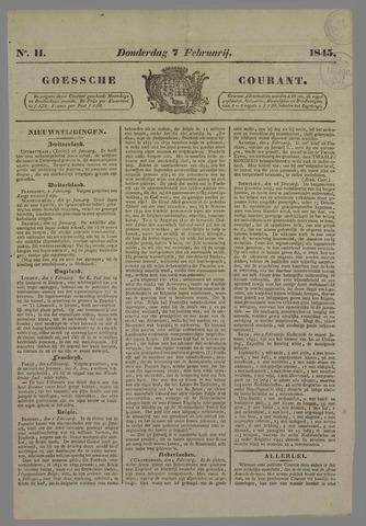 Goessche Courant 1845-02-07