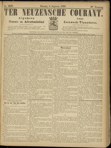 Ter Neuzensche Courant. Algemeen Nieuws- en Advertentieblad voor Zeeuwsch-Vlaanderen / Neuzensche Courant ... (idem) / (Algemeen) nieuws en advertentieblad voor Zeeuwsch-Vlaanderen 1896-08-04