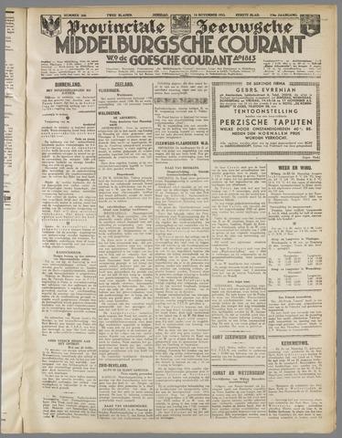 Middelburgsche Courant 1933-11-14