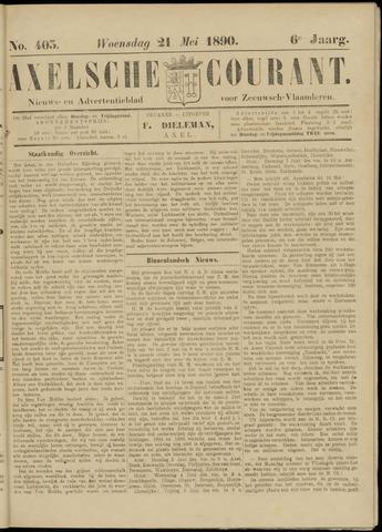 Axelsche Courant 1890-05-21