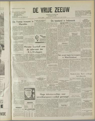 de Vrije Zeeuw 1958-03-25