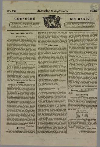 Goessche Courant 1845-09-08