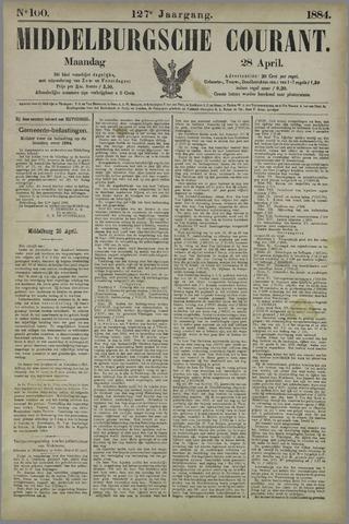 Middelburgsche Courant 1884-04-28
