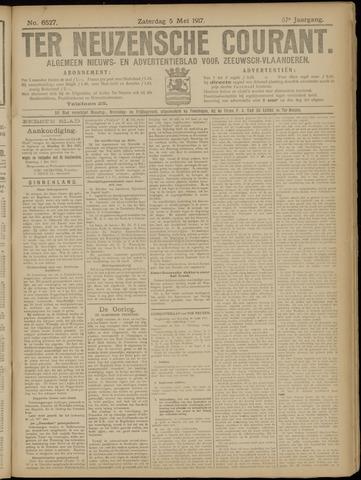 Ter Neuzensche Courant. Algemeen Nieuws- en Advertentieblad voor Zeeuwsch-Vlaanderen / Neuzensche Courant ... (idem) / (Algemeen) nieuws en advertentieblad voor Zeeuwsch-Vlaanderen 1917-05-05