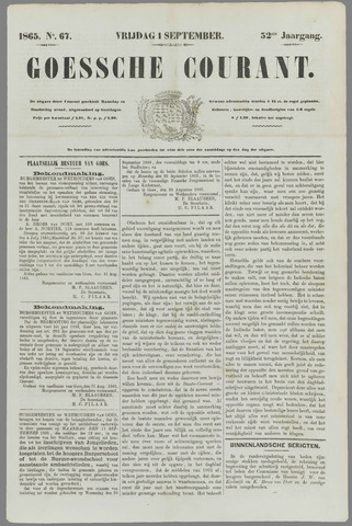 Goessche Courant 1865-09-01