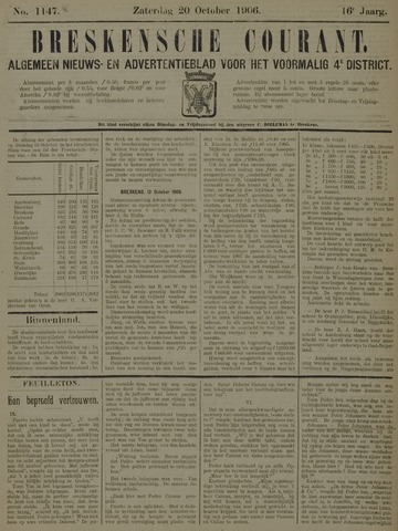 Breskensche Courant 1906-10-20