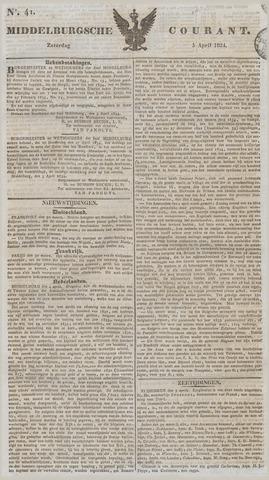 Middelburgsche Courant 1834-04-05