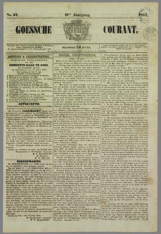 Goessche Courant 1854-07-24
