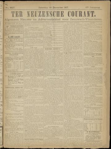 Ter Neuzensche Courant. Algemeen Nieuws- en Advertentieblad voor Zeeuwsch-Vlaanderen / Neuzensche Courant ... (idem) / (Algemeen) nieuws en advertentieblad voor Zeeuwsch-Vlaanderen 1917-12-29