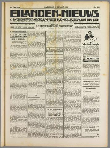 Eilanden-nieuws. Christelijk streekblad op gereformeerde grondslag 1938-03-19