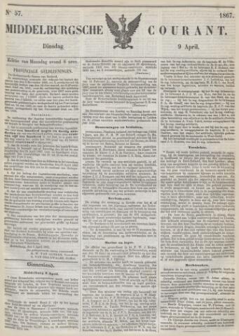 Middelburgsche Courant 1867-04-09