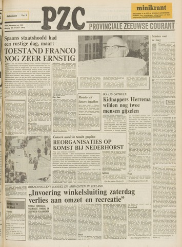 Provinciale Zeeuwse Courant 1975-10-28