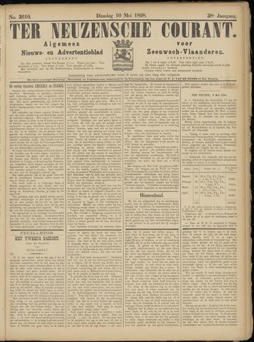 Ter Neuzensche Courant. Algemeen Nieuws- en Advertentieblad voor Zeeuwsch-Vlaanderen / Neuzensche Courant ... (idem) / (Algemeen) nieuws en advertentieblad voor Zeeuwsch-Vlaanderen 1898-05-10