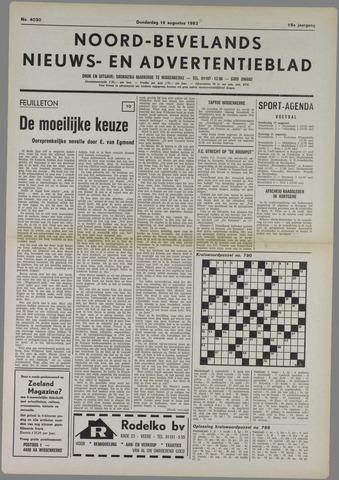Noord-Bevelands Nieuws- en advertentieblad 1982-08-19