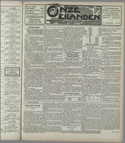 Onze Eilanden 1927-01-05