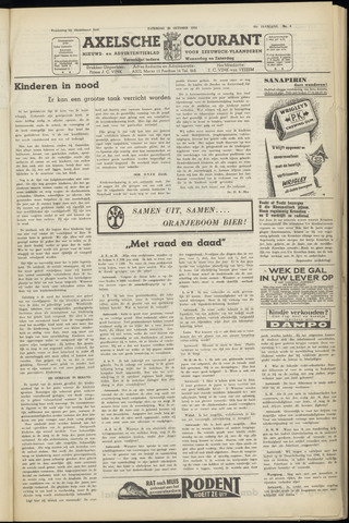 Axelsche Courant 1951-10-20