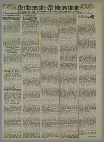 Zierikzeesche Nieuwsbode 1932-01-06