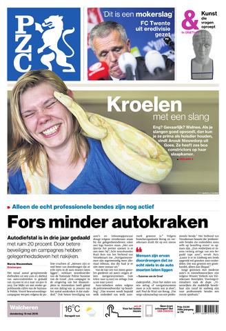 Provinciale Zeeuwse Courant 2016-05-19