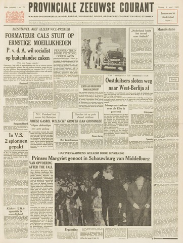 Provinciale Zeeuwse Courant 1965-04-06