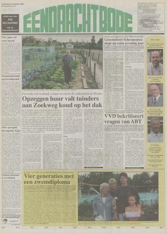 Eendrachtbode (1945-heden)/Mededeelingenblad voor het eiland Tholen (1944/45) 2004-09-23