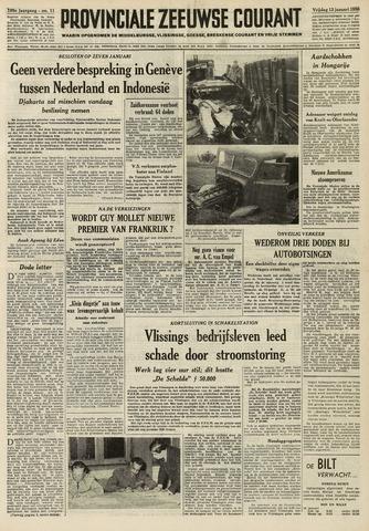 Provinciale Zeeuwse Courant 1956-01-13