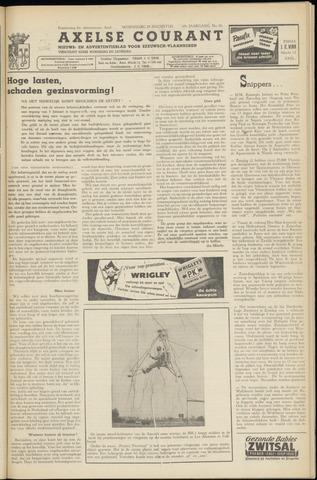 Axelsche Courant 1954-08-25
