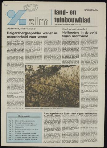 Zeeuwsch landbouwblad ... ZLM land- en tuinbouwblad 1991-04-26