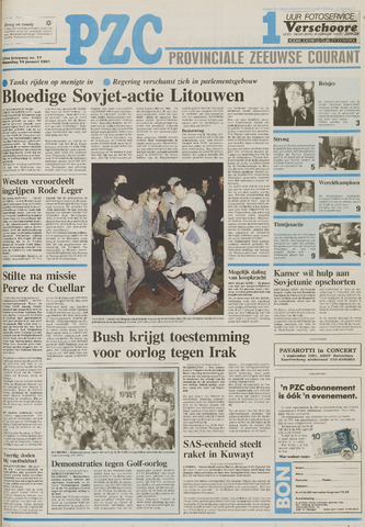 Provinciale Zeeuwse Courant 1991-01-14