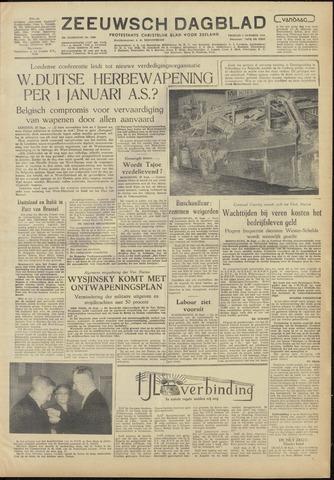 Zeeuwsch Dagblad 1954-10-01