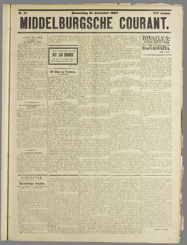 Middelburgsche Courant 1927-01-31