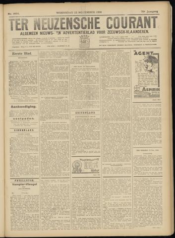 Ter Neuzensche Courant. Algemeen Nieuws- en Advertentieblad voor Zeeuwsch-Vlaanderen / Neuzensche Courant ... (idem) / (Algemeen) nieuws en advertentieblad voor Zeeuwsch-Vlaanderen 1930-11-12