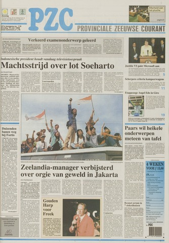 Provinciale Zeeuwse Courant 1998-05-19