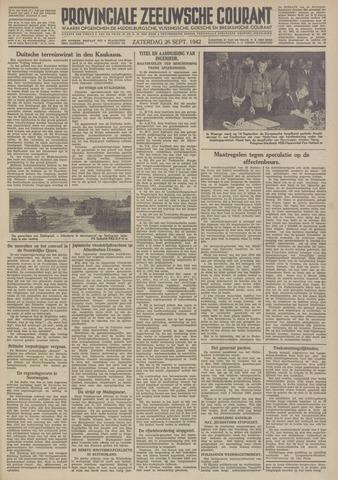 Provinciale Zeeuwse Courant 1942-09-26