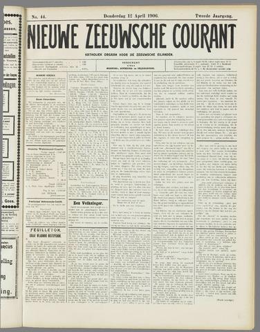 Nieuwe Zeeuwsche Courant 1906-04-12