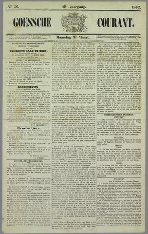 Goessche Courant 1862-03-31