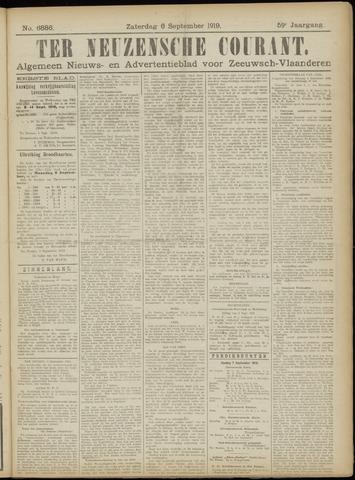 Ter Neuzensche Courant. Algemeen Nieuws- en Advertentieblad voor Zeeuwsch-Vlaanderen / Neuzensche Courant ... (idem) / (Algemeen) nieuws en advertentieblad voor Zeeuwsch-Vlaanderen 1919-09-06
