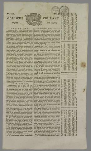 Goessche Courant 1826-07-14