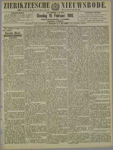Zierikzeesche Nieuwsbode 1910-02-15