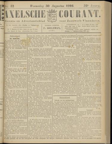Axelsche Courant 1916-08-30
