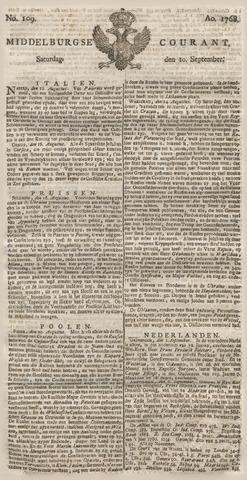 Middelburgsche Courant 1768-09-10